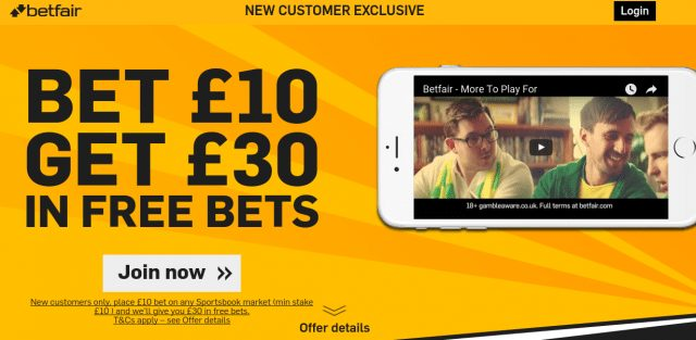 Betfair Free Bet
