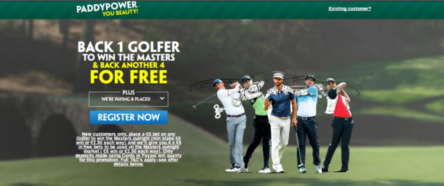 Back One Golfer To Win US Masters, Pick Four More Winners For Free