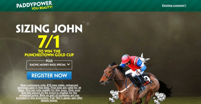 Punchestown gold cup betting odds como mineral bitcoins android sdk