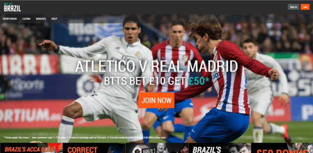 Bet £10 Both Teams To Score In Atletico vs Real and Get £50 | Bet On