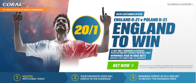 England poland betting odds sport betting sites in nigeria online