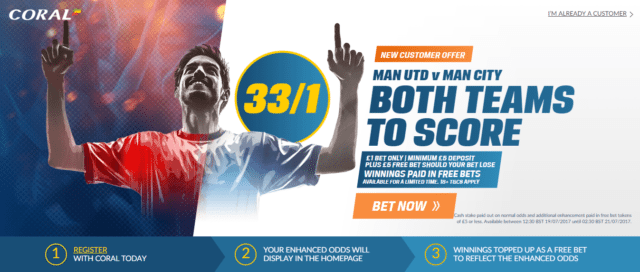 Coral betting both teams to score money talks sports betting