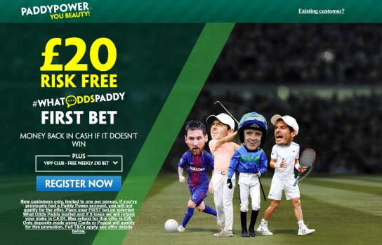 risk free pp - Get £20 Risk Free Bet For #WhatOddsPaddy Market | PaddyPower Enhanced Odds