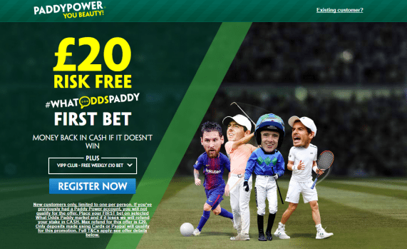 whatodds paddy - Get £20 Risk-Free Bet With PaddyPower | PaddyPower Football Enhanced Odds
