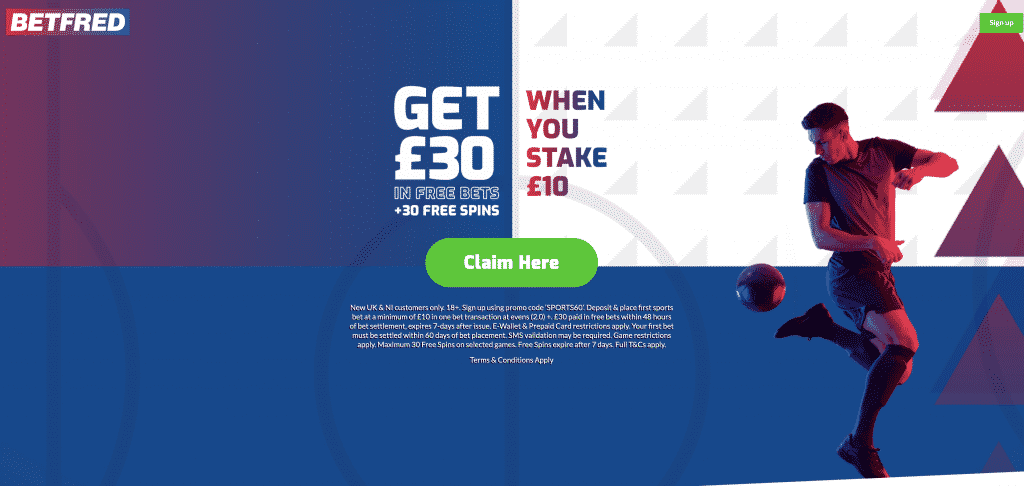 betfred - Bet £10 Get Up to £30 Free Bet + 30 Free Spins | BetFred £30 Free Bet Offer | Special Offer