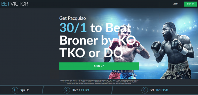 30/1 Pacquiao to beat Broner