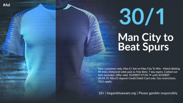 1024x576 21 1 - Get 30/1 Man City To Win | BetVictor Tottenham v Man City Enhanced Odds Offer