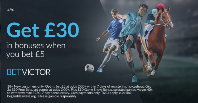 BetVictor Bet 30 - BetVictor Review
